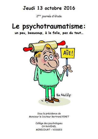 journee d'etude sur le psychotraumatisme a Ravenel oct 2016